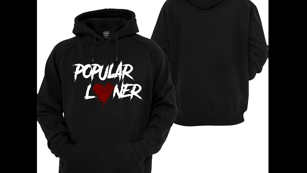 Popular Loner Hoodie (Black)