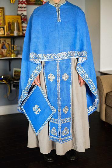 Orthodox priest vestments, IRISH LINEN