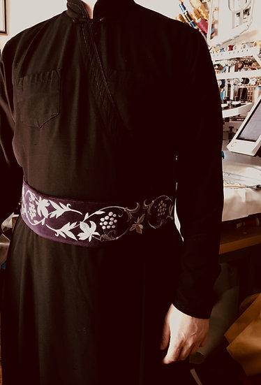 The belt for cassocs