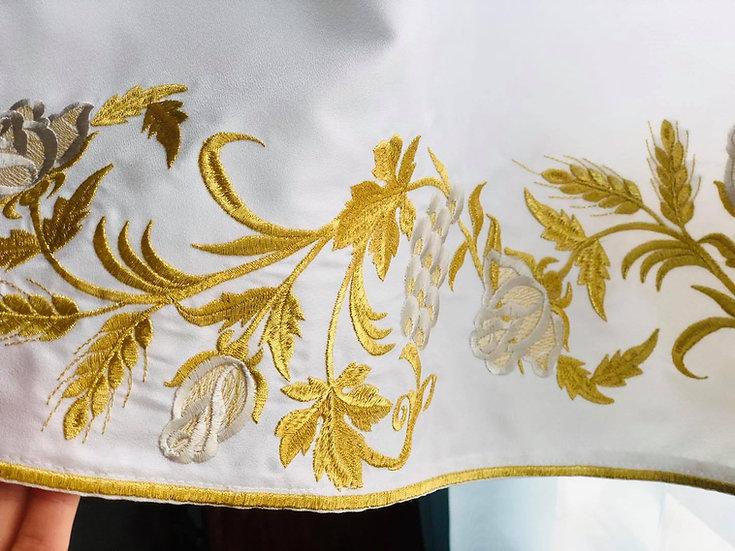 Orthodox priest bishop podriznik (stikharion) fully embroidered
