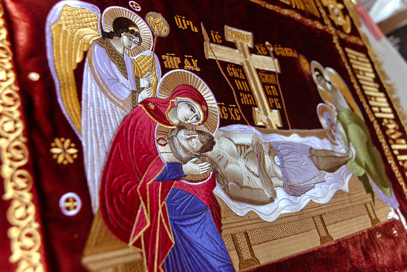 Shroud (epitaphios) of Christ our God