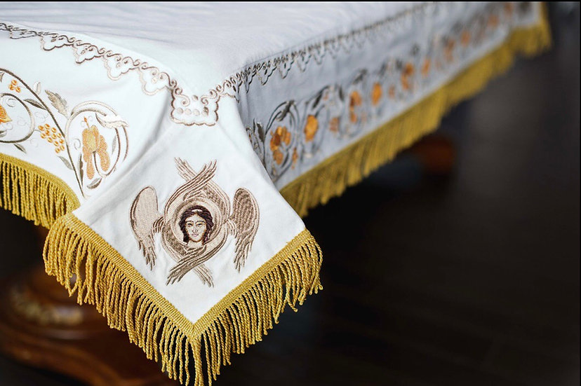 Holy table cover