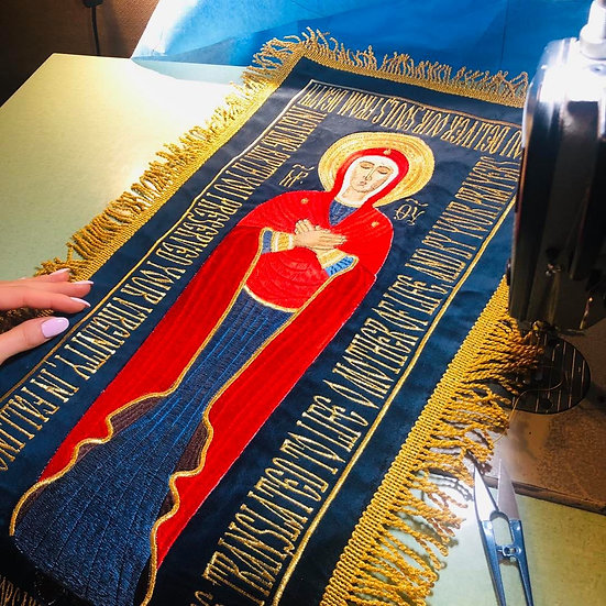 Small shroud of Theotokos