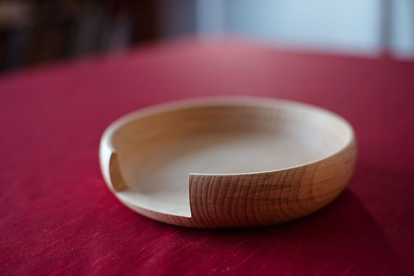 Liturgical wooden plate