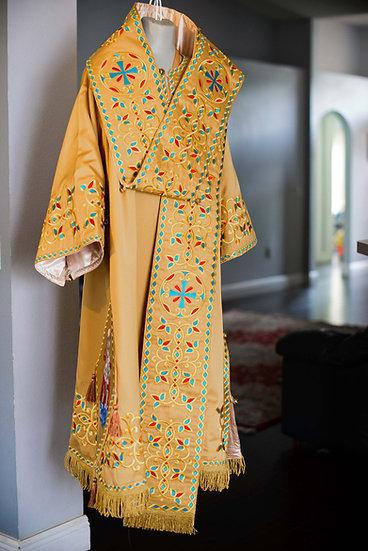Orthodox bishop vestments set