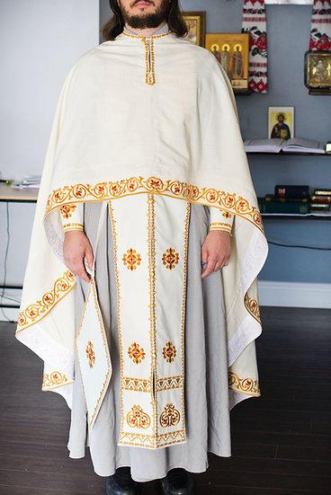 Orthodox priest vestments, 100% linen, very light