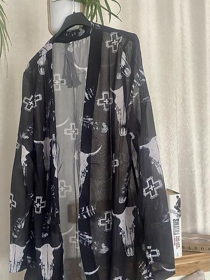 Queen rocks  kimono