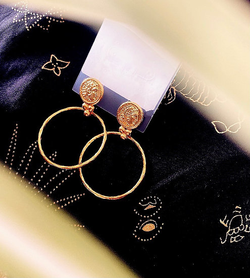 Boa earrings
