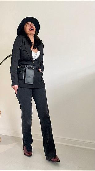 Black pack blazer