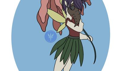 Plague Fairy Illustration