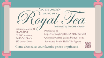 Royal Tea Event