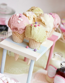 Yummy ice cream cones