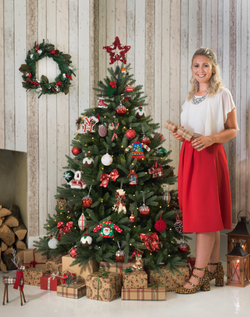 Christmas campaign shot for Wyevale