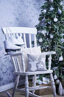 Icy white Christmas