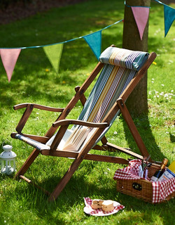 Handcrafted deckchair for Homemaker