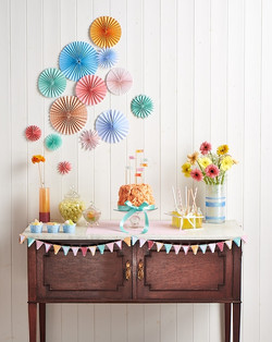 Sorbet birthday party scheme