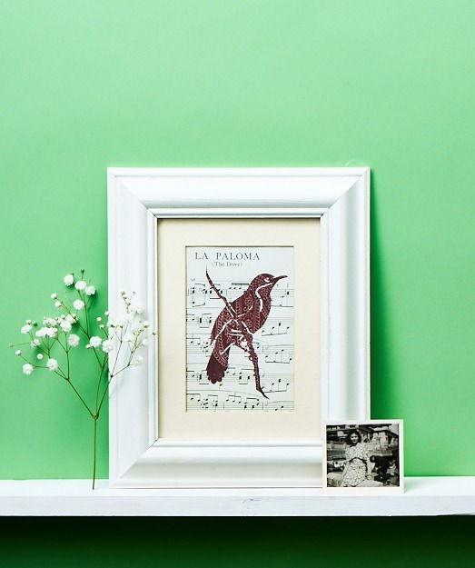 Handcrafted frame shot for Homemaker