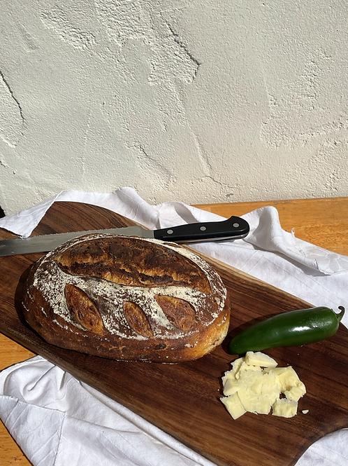 Cheddar Jalapeno & Garlic Durum