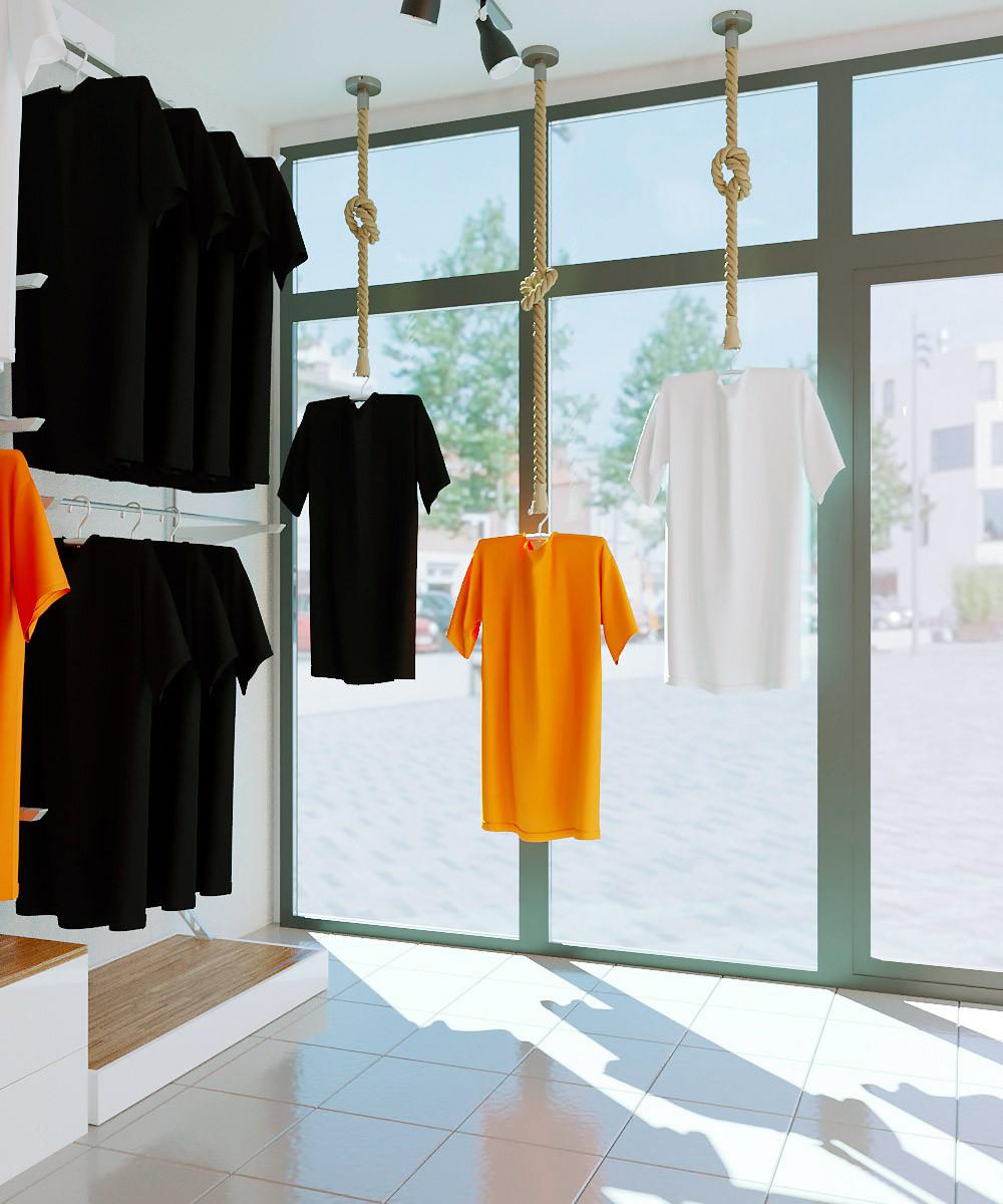 Визуализация бутика, дизайн бутика алматы, интерьер бутика Казахстан