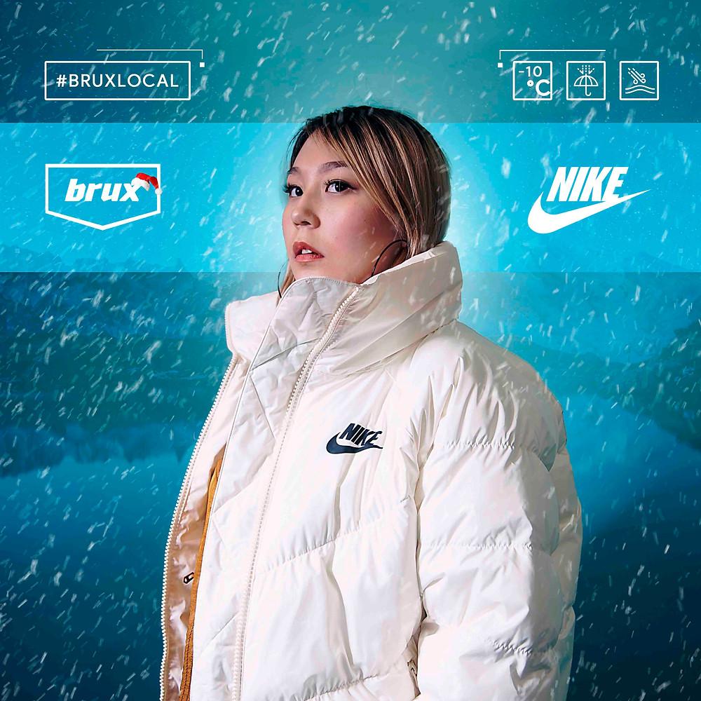 Nike Sportswear Synthetic Fill, Nike белая куртка, Алматы Найк