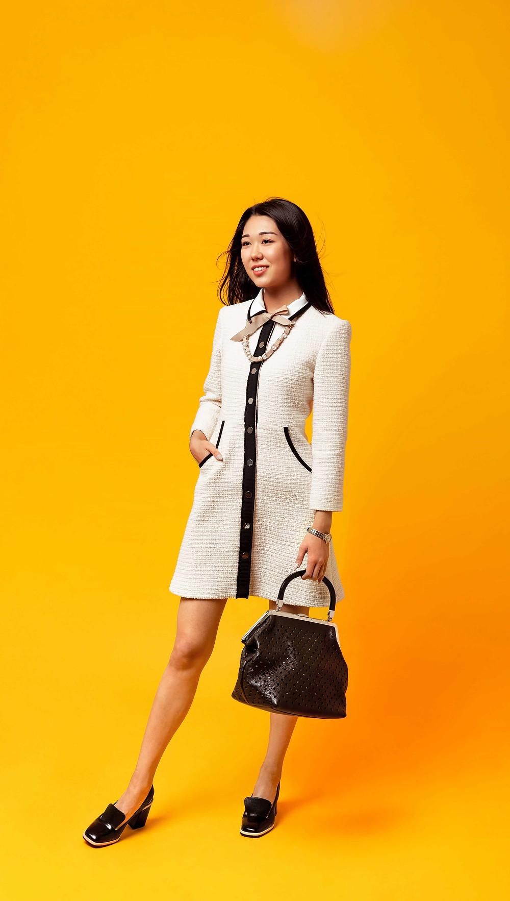 Total Look, Алматы стиль, девушка в белом, Азиатка в белом, Lux fasion, Asian fasion, Казахстан одежда