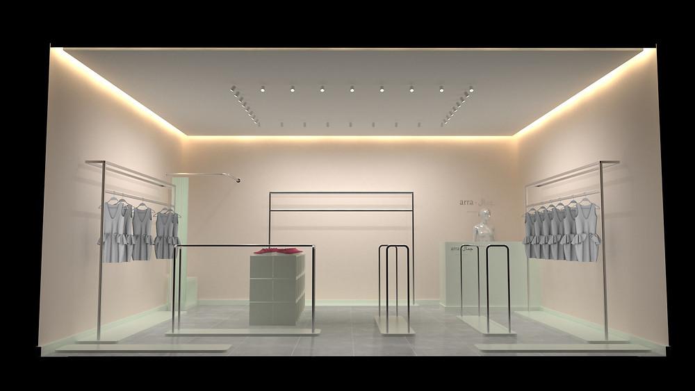 Разработка дизайна магазина, маркет, market, design interior