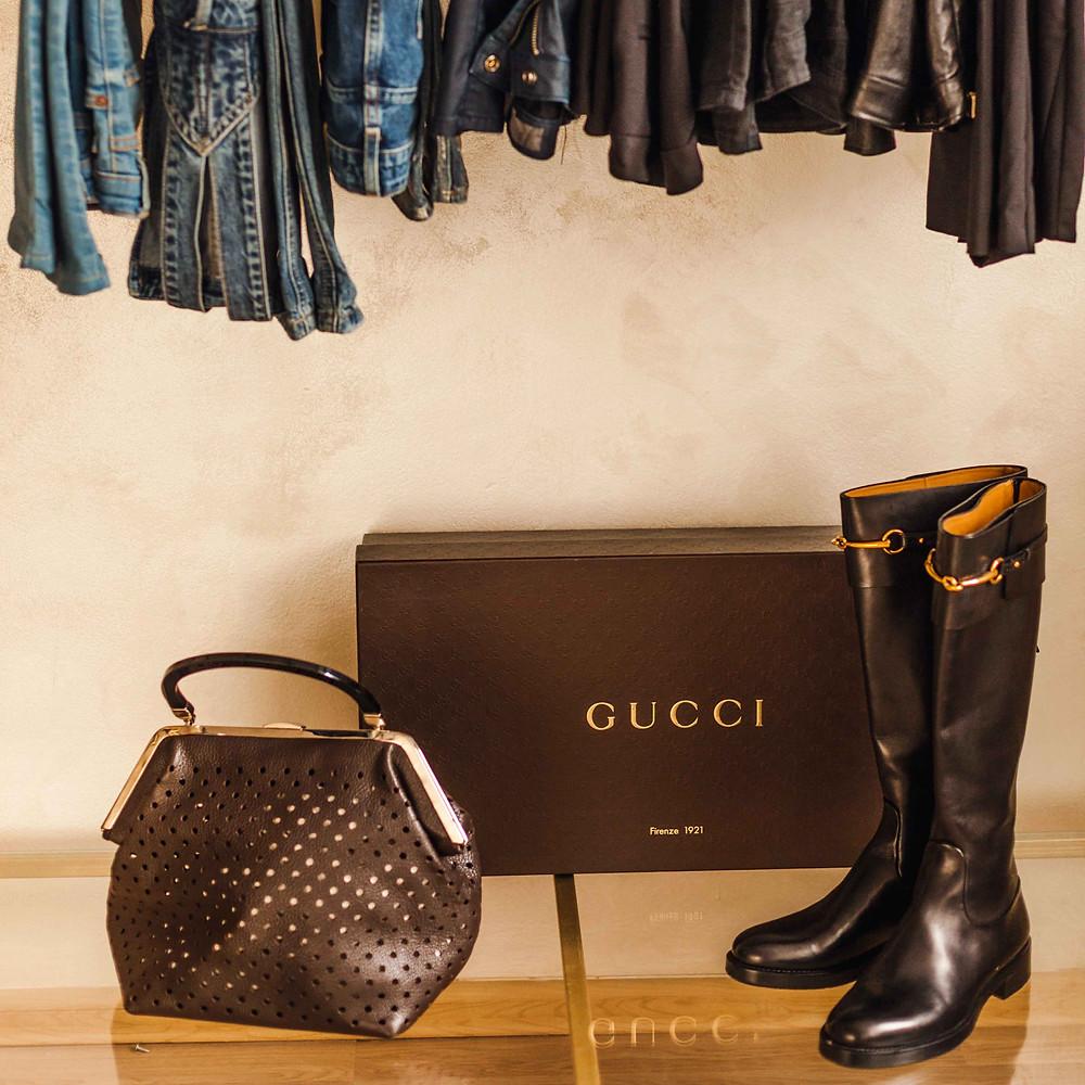 Gucci сапоги, сапоги черные, Гучи сумка, Гучи сапоги, Деним