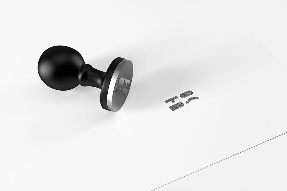 Печать Toda Design, дизайн печати, белый лист