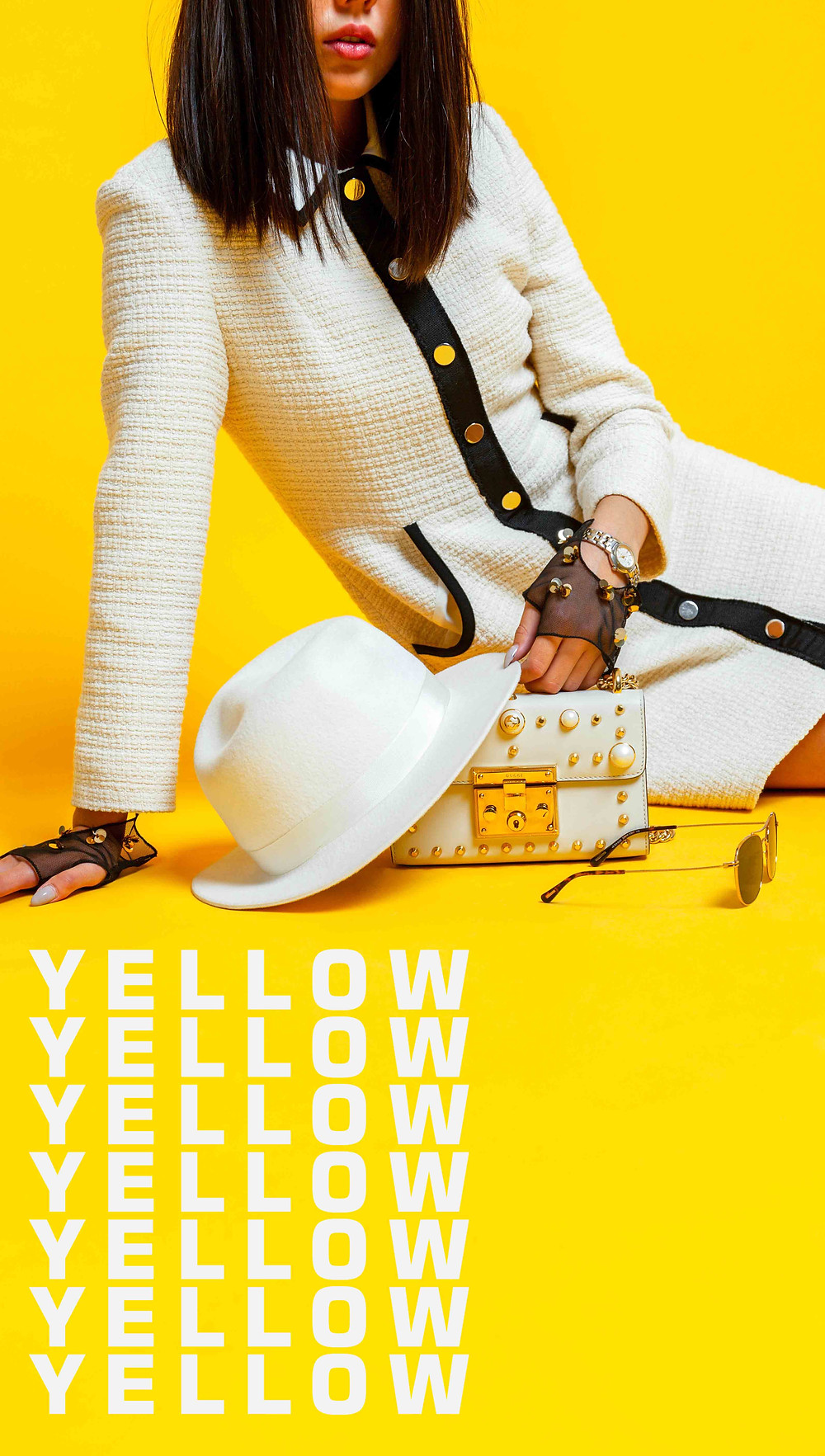 Yellow, Fashion kazakhstan, Gucci Алматы, белая шляпа, белая одежда, стиль казахстан