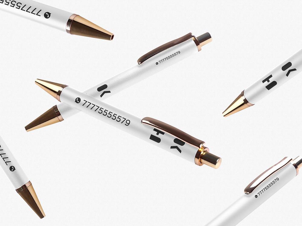 Брендированная ручка