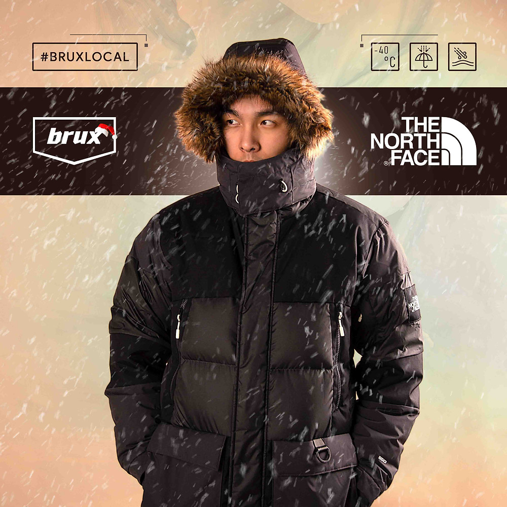 The North Face Vostok Parka, The North Face, North Face куртка, Brux North Face, Black TNF coat