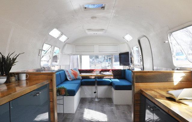 AIRSTREAM OFFICE INTERIOR