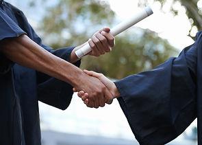 Graduation Handshake