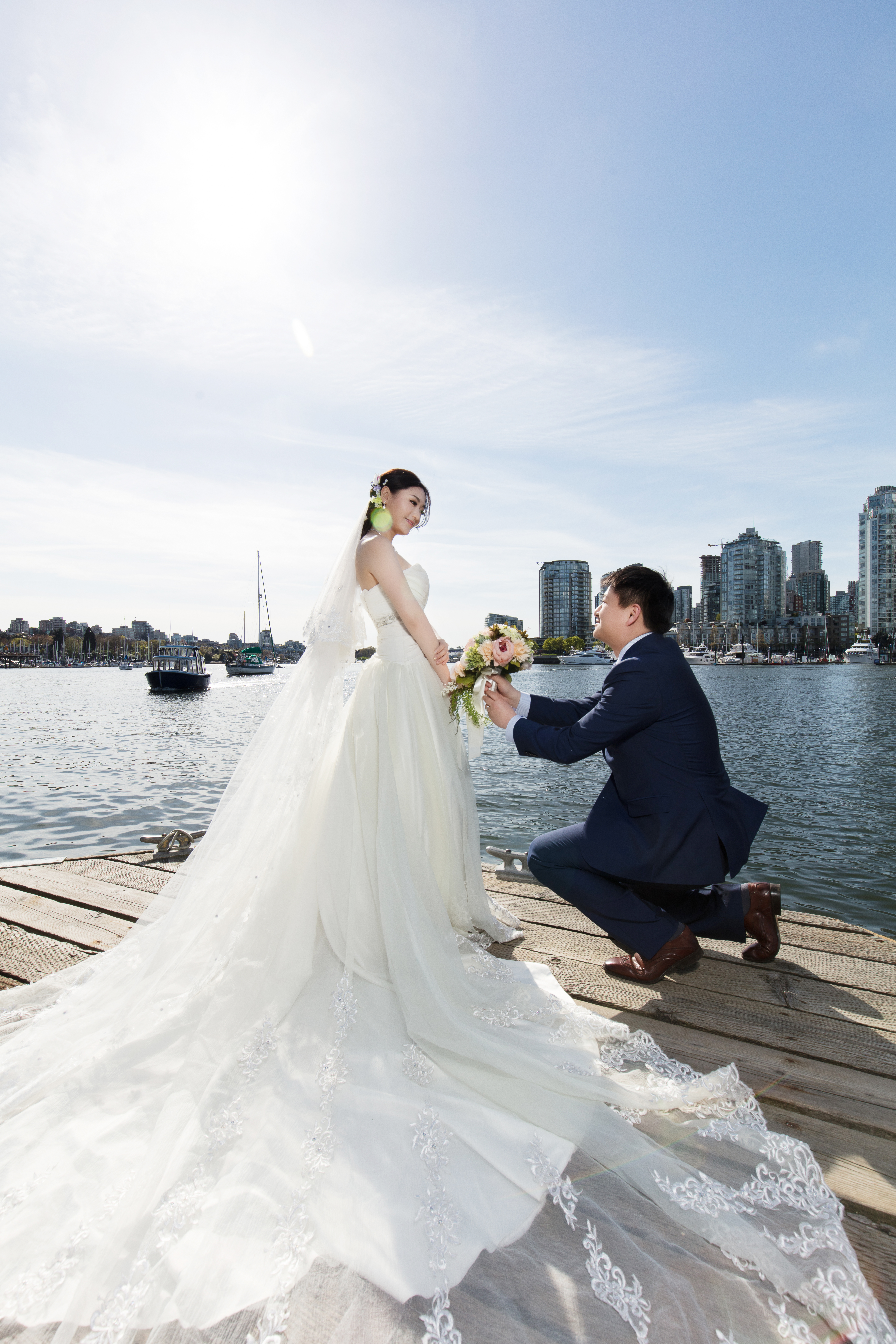温哥华婚纱摄影