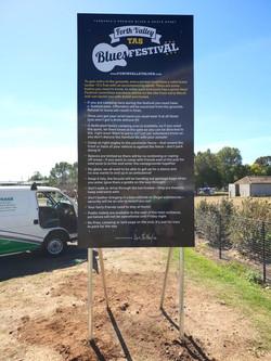 Festival Signage