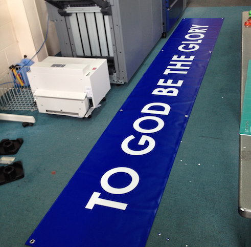 Large Vinyl Banners