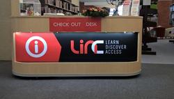 LINC Ulverstone Checkout Desk