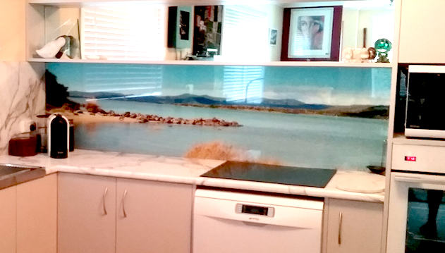 Toughened Glass Splashback