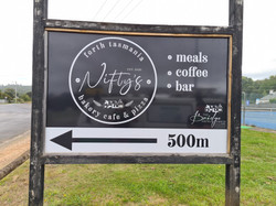 Sports Ground Advertising Sign