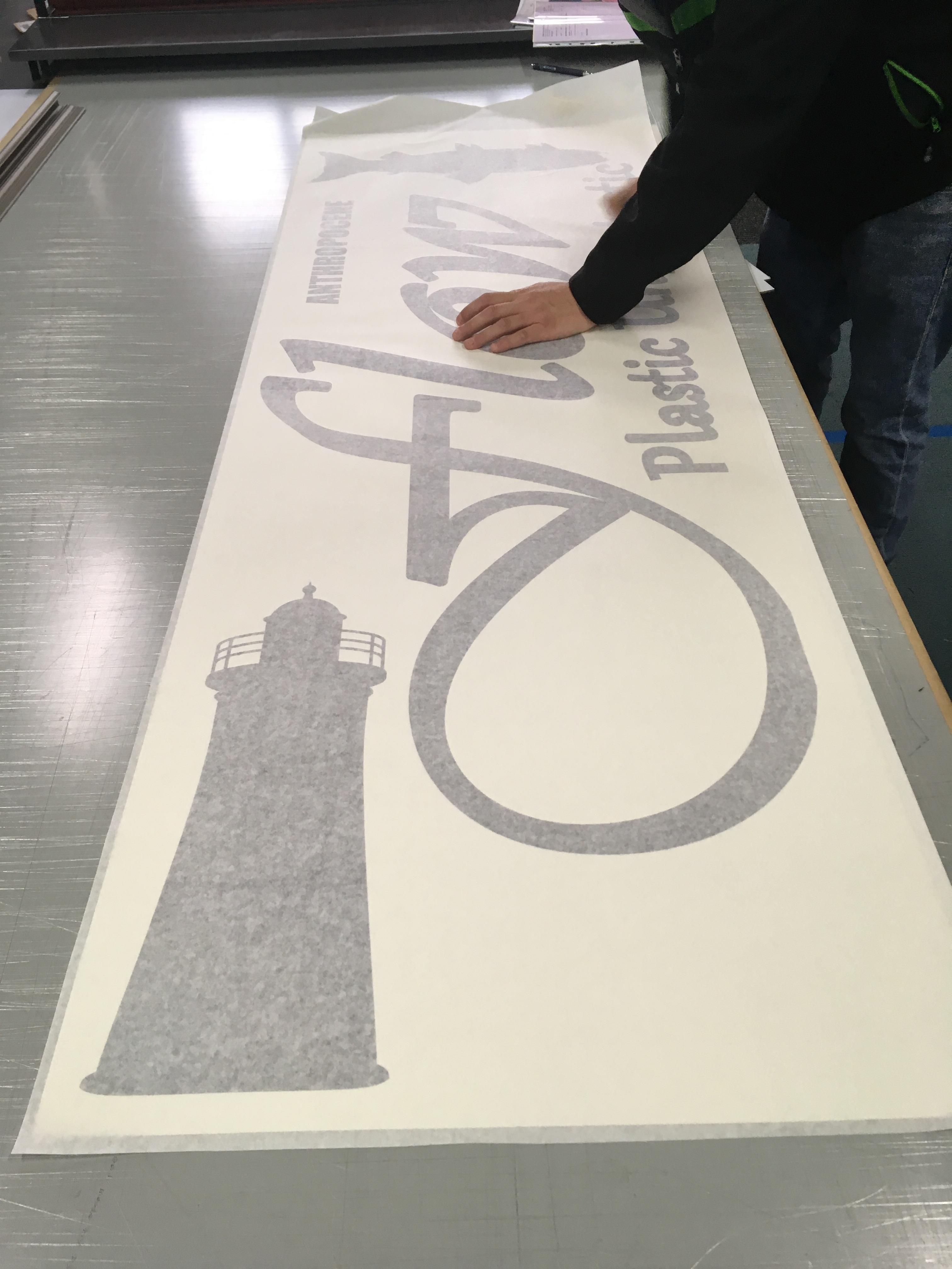 Cut Vinyl Lettering Preparation