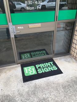 Digitally Printed Door Mats