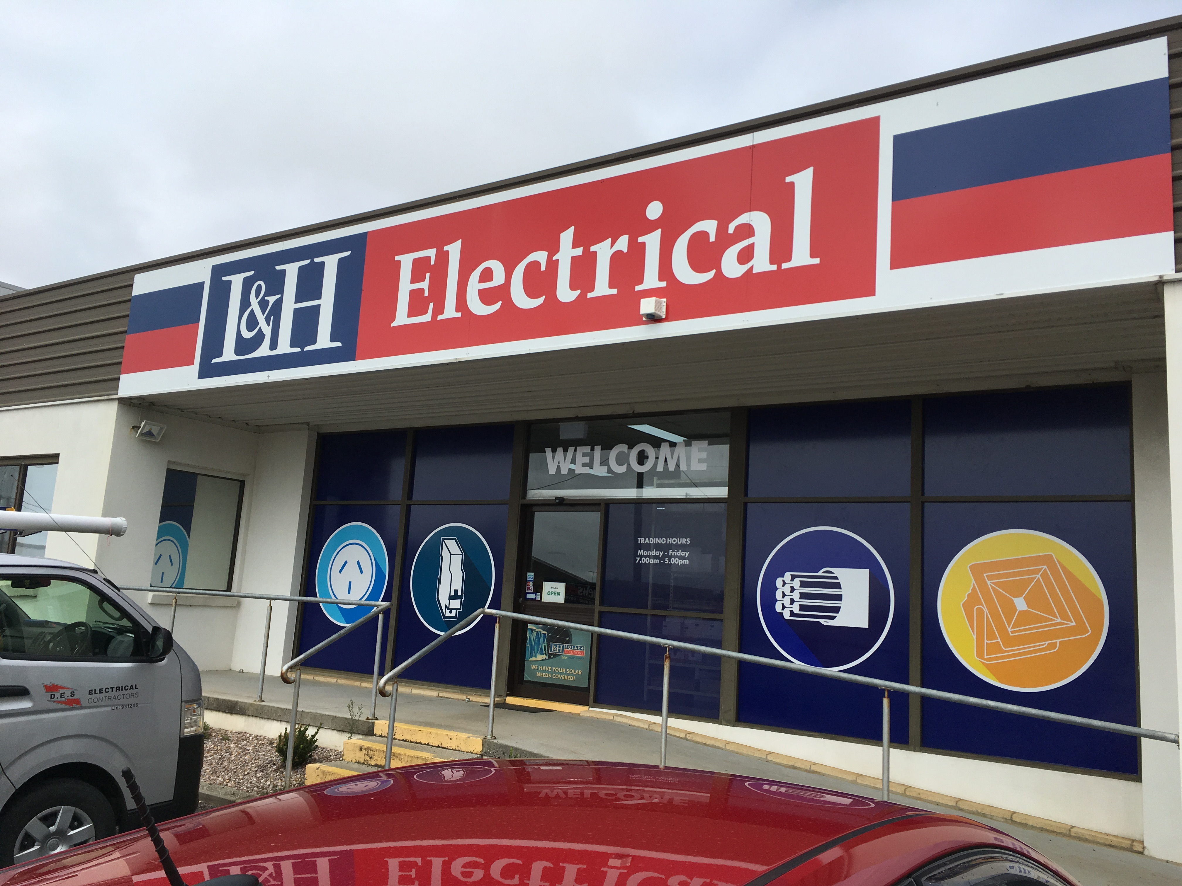 New Signage for L & H Electrical