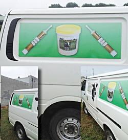 Work Van Signage