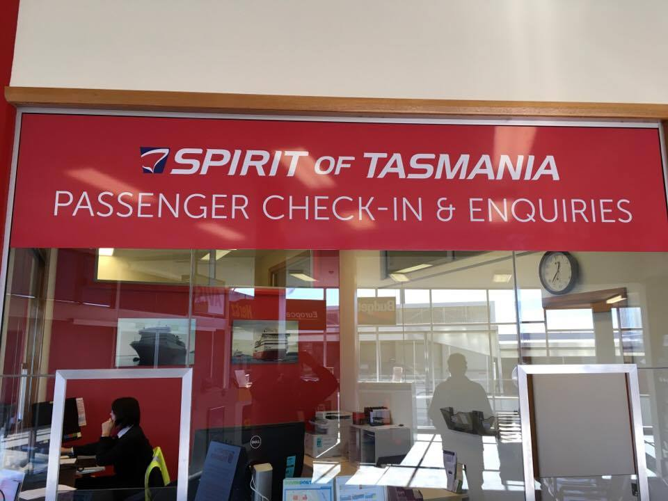 Ticketing Office Signage