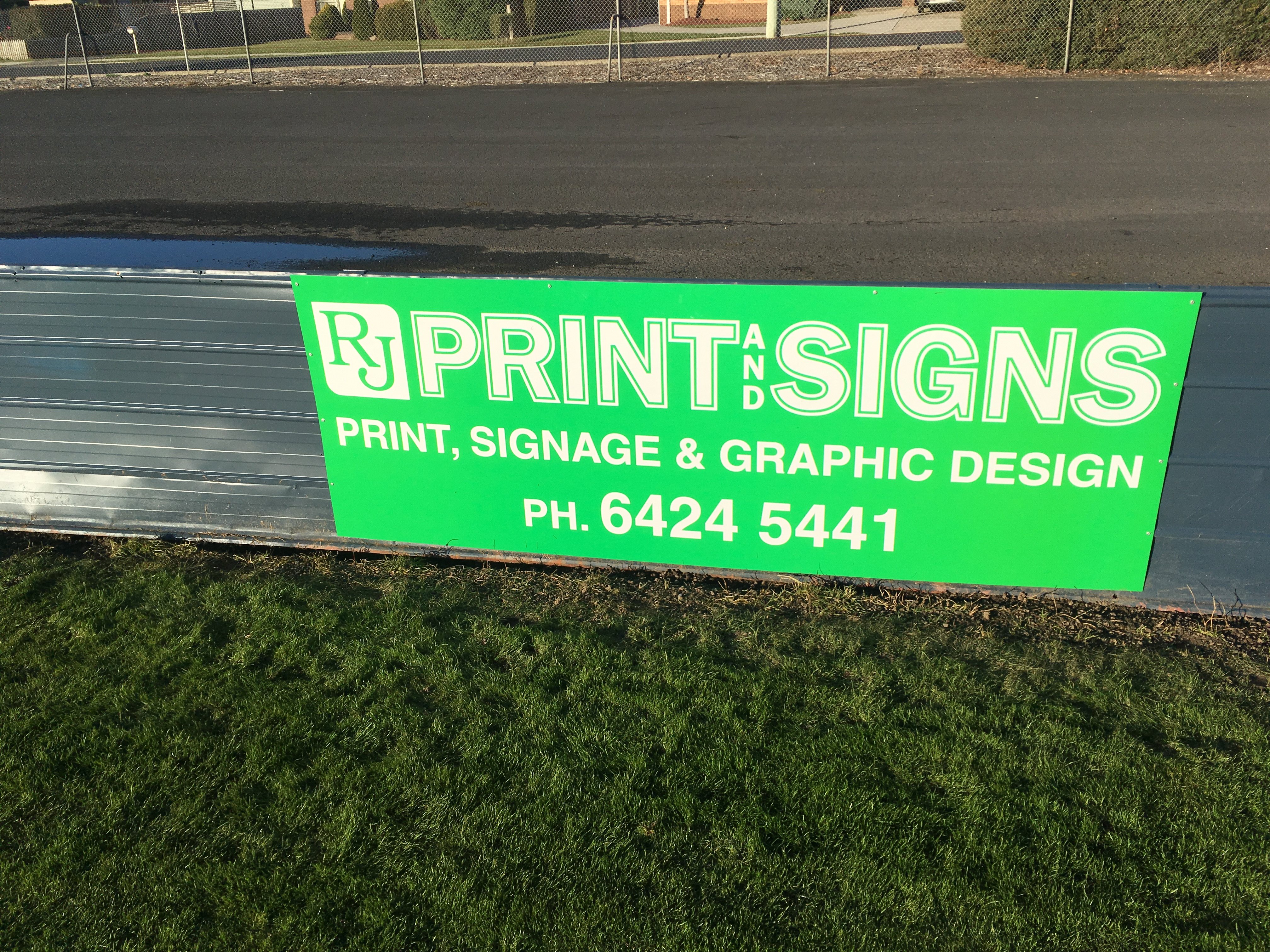 Sponsorship Signage