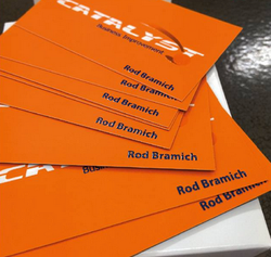 Scodix Printed Business Cards