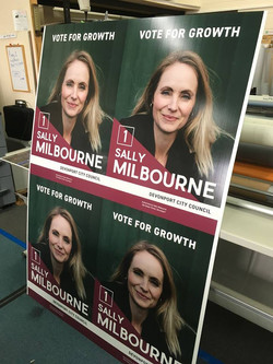 A1 Election Signage