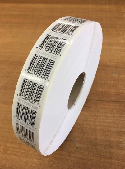 Barcodes on Rolls