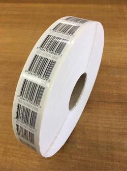 Barcodes on Rolls