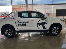 Decals applied to New Vehicle